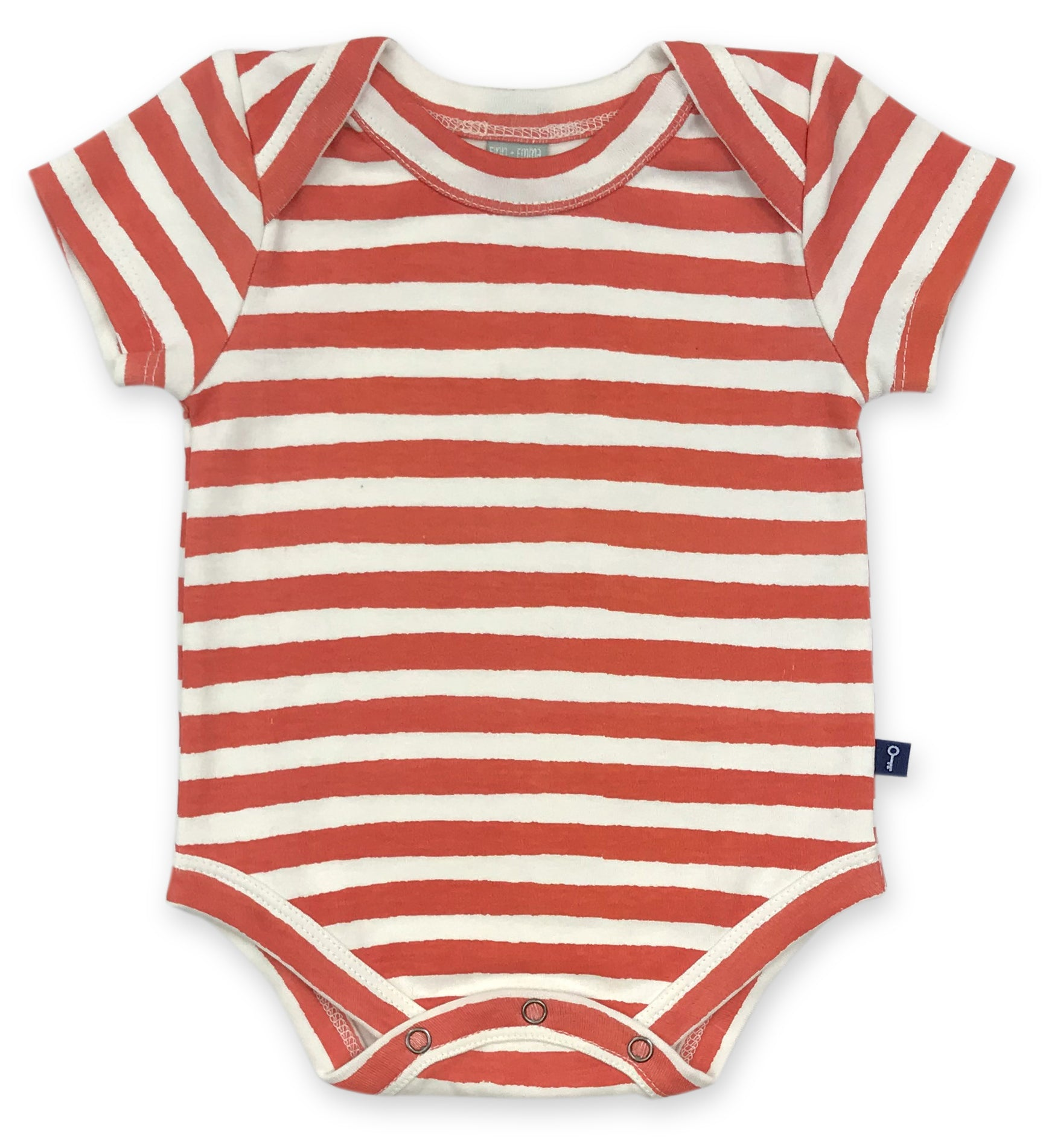 Lap Bodysuit in Red Stripe