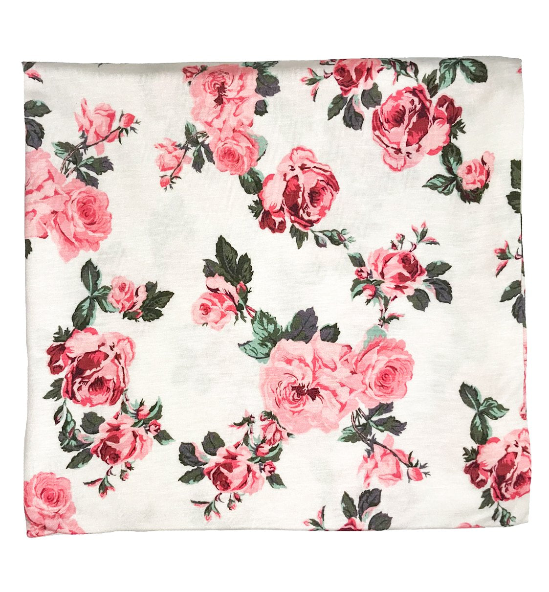 Pink Floral Swaddle