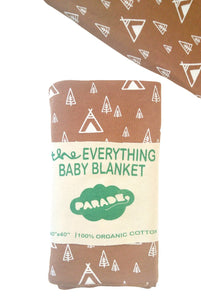 Everything Baby Blanket - Camping