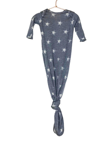 Denim Star Knotted Gown
