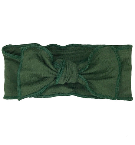 Olive Green Bow