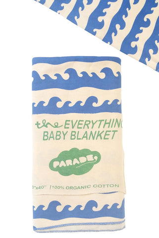 Everything Baby Blanket - Blue Surf