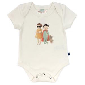 Lap Bodysuit in Bandit Kids