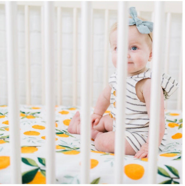 Clementine Crib Sheets