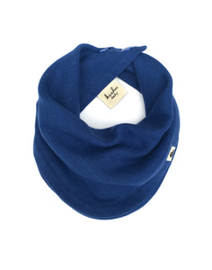 Infinity Scarf Bib in Royal Blue
