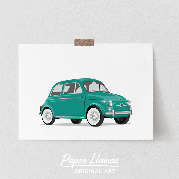 Fiat Printable  - baby nursery art from Paper Llamas