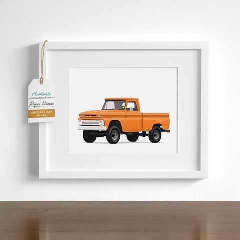 GMC Printable  - baby nursery art from Paper Llamas