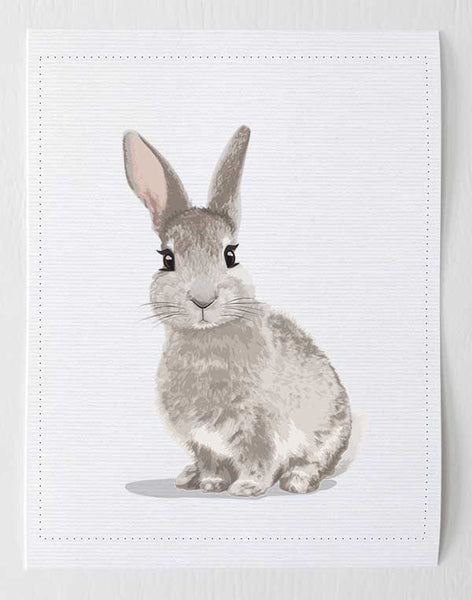 Baby Bunny  - baby nursery art from Paper Llamas