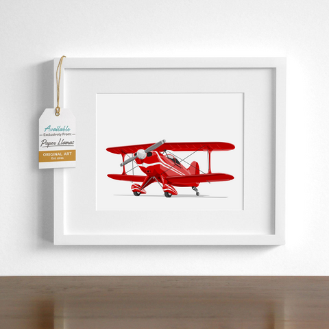 Cessna  - baby nursery art from Paper Llamas