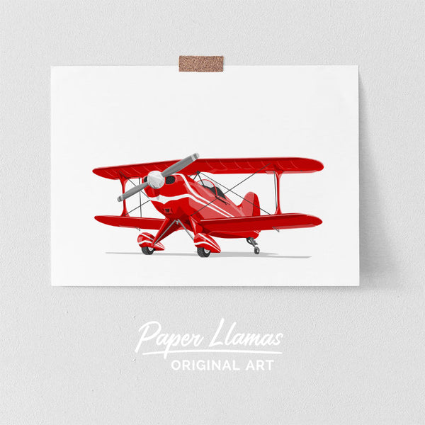 Cessna Printable  - baby nursery art from Paper Llamas