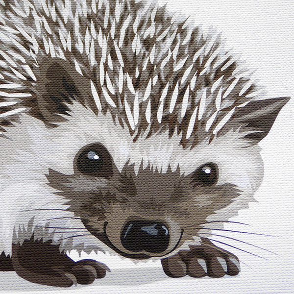 Baby HedgeHog  - baby nursery art from Paper Llamas