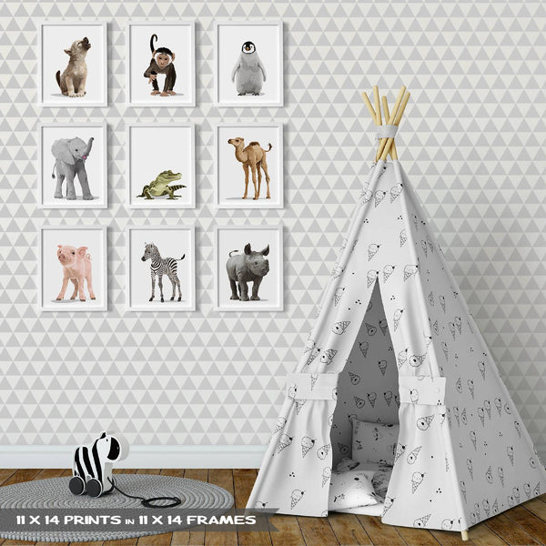 Baby Penguin  - baby nursery art from Paper Llamas