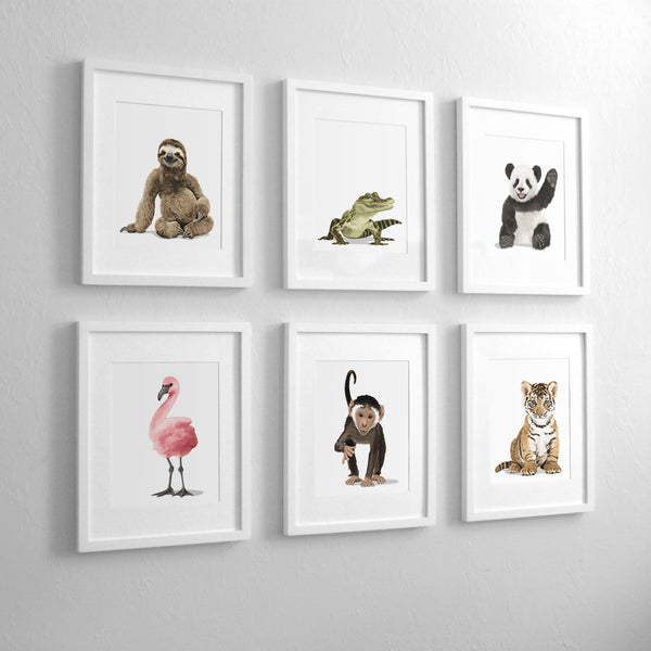 Baby Flaming Printable  - baby nursery art from Paper Llamas