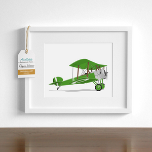 Sopwith Printable  - baby nursery art from Paper Llamas