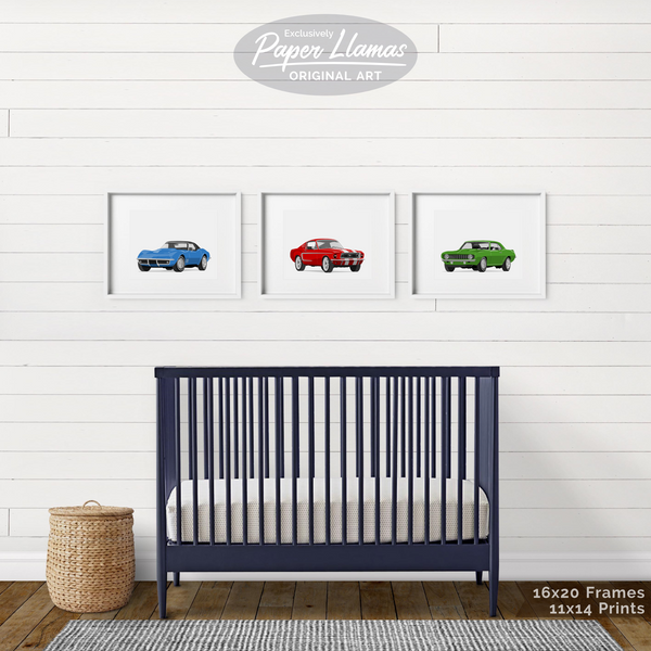 Camaro Printable  - baby nursery art from Paper Llamas