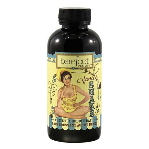 Barefoot Venus Vanilla Shake White tea Bubble bath 4oz