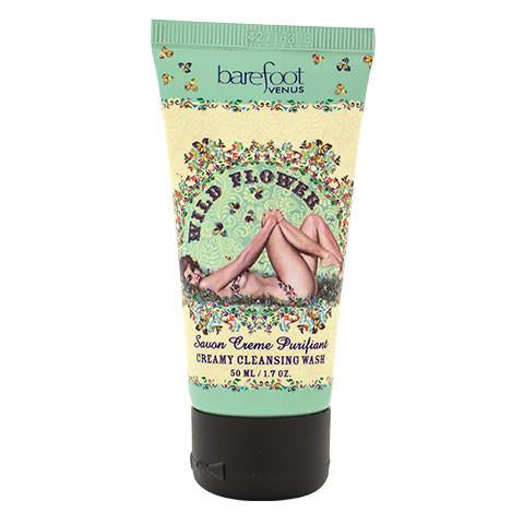 Barefoot Venus Wild Flower Creamy Cleansing Wash 50ml