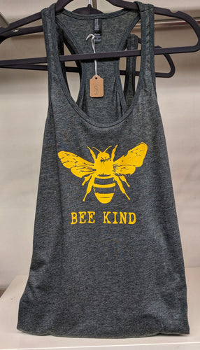 Bee kind racerback tank