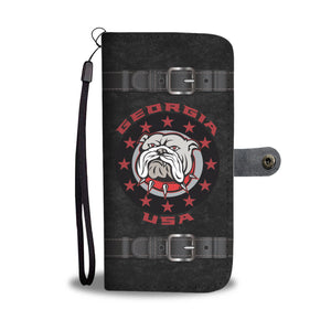 Georgia USA Bulldog - Wallet Phone Case
