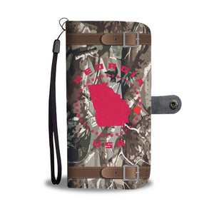 Georgia Stars USA Realtree Camo Wallet Phone Case