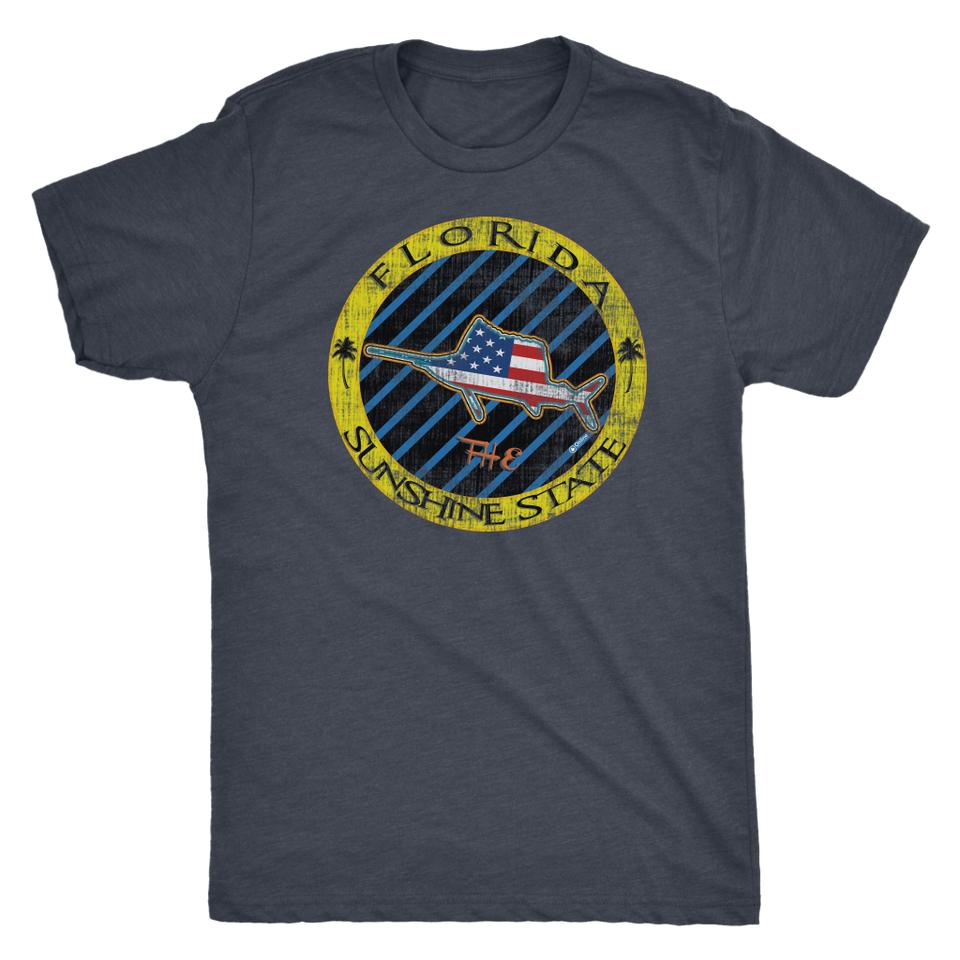 Florida USA The Sunshine State Sailfish - Tee