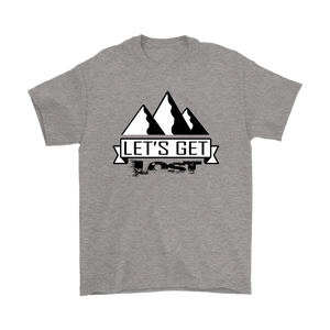 Let's Get Lost - Short Sleeve Men's T-Shirt