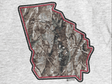 Georgia Tri-Color Realtree Unisex Baseball Raglan - T-Shirt