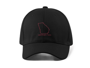 Georgia USA Outline - Cotton Cap