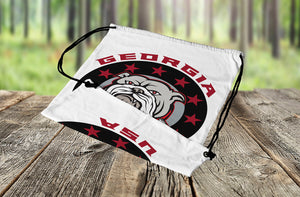 Georgia USA Bulldog - Drawstring Bag