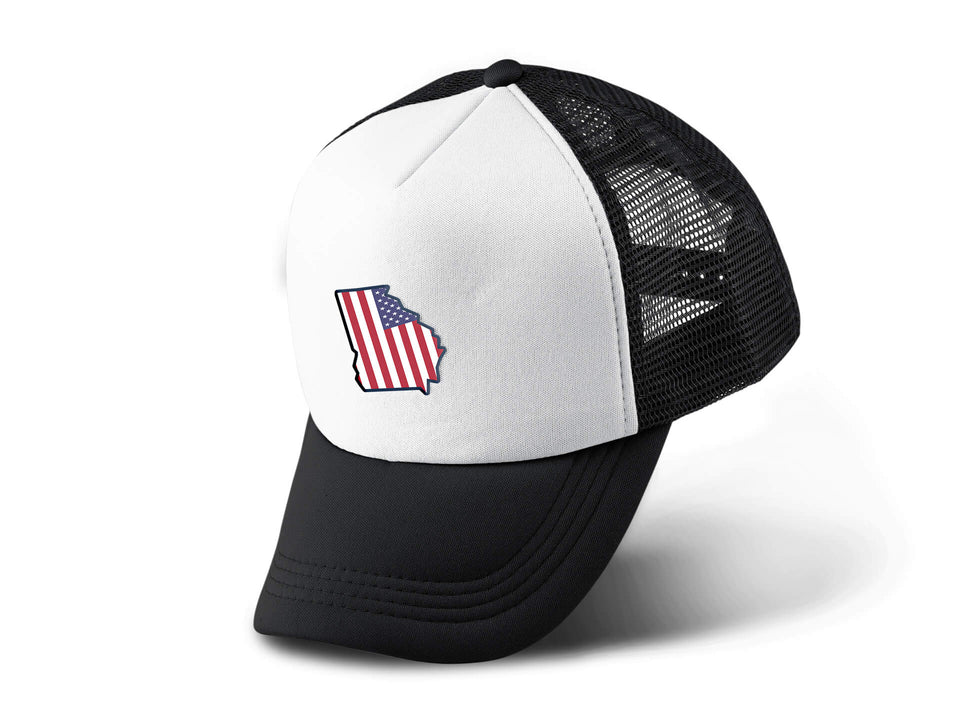 "Georgia USA ""The Peach State"" - Trucker Hat"