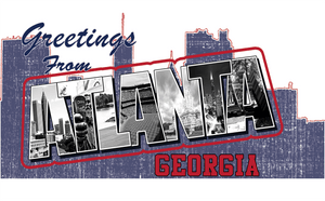 Greetings From Atlanta Postcard - Tee