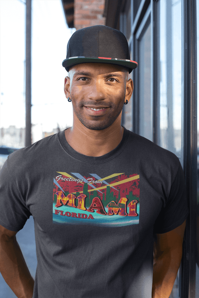 Miami Greeting Card - Tee
