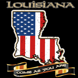 Louisiana Come As You Are - Tee