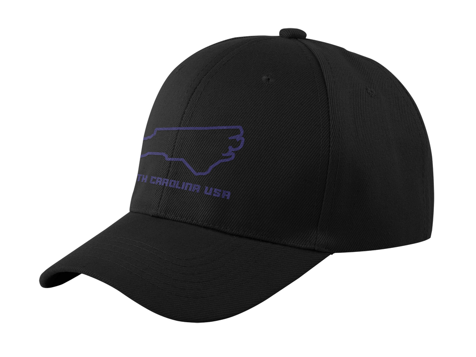 North Carolina USA Outline - Cotton Cap