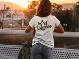 Queen - Ladies' T-shirt Backside Print