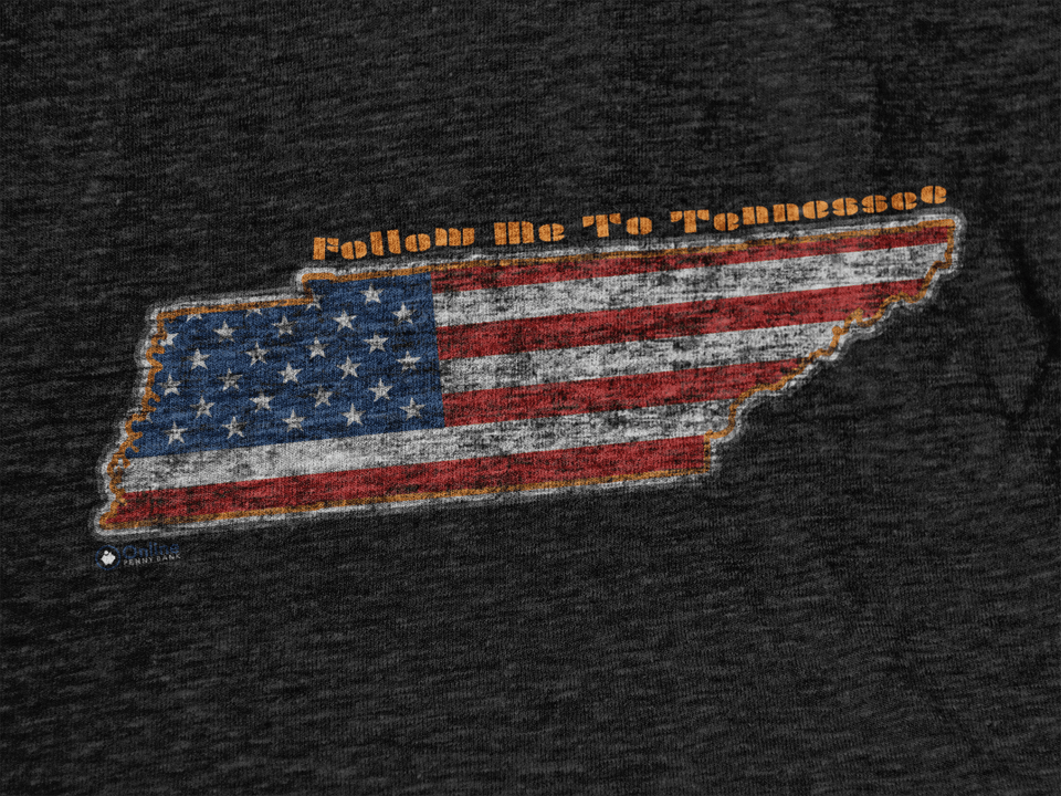 "Tennessee USA ""The Volunteer State"" Tee"