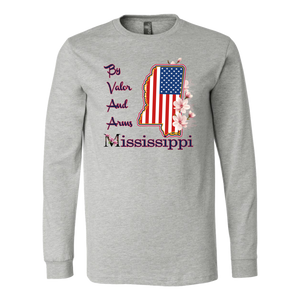 Mississippi By Valor And Arms - Tee