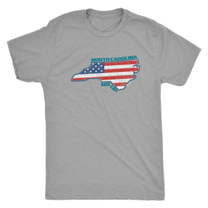"North Carolina ""The Tar Heel State"" Raise Up - Tee"