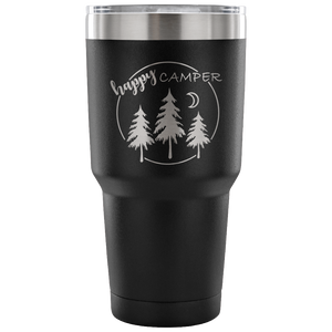 Happy Camper - 30 Ounce Vacuum Tumbler
