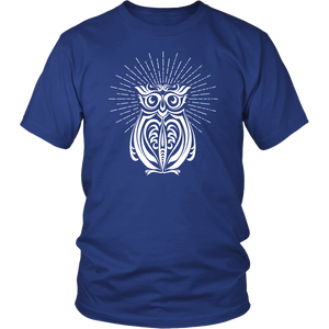 Owl Enlightened - Short Sleeve T-Shirt