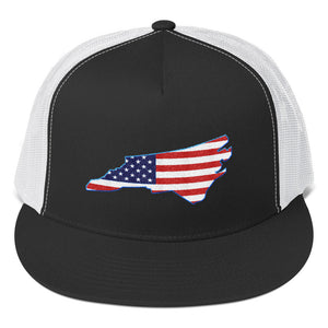 "North Carolina USA ""The Tar Heel State""- Trucker Cap"