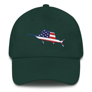 Florida USA Sailfish - Dad hat