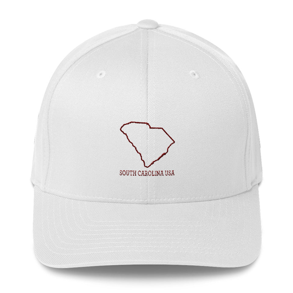South Carolina USA - Structured Twill Cap