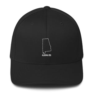 Alabama USA - Structured Twill Cap