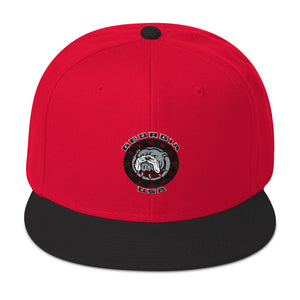 Georgia USA Bulldog - Snapback Hat