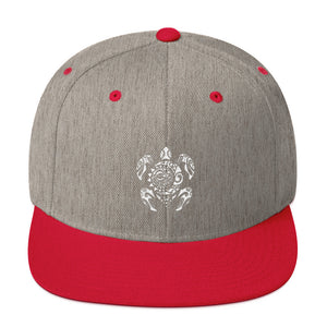 Tribal Turtle - Snapback Hat