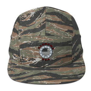 Alabama USA Stars - Green Tiger Camo Five Panel Cap