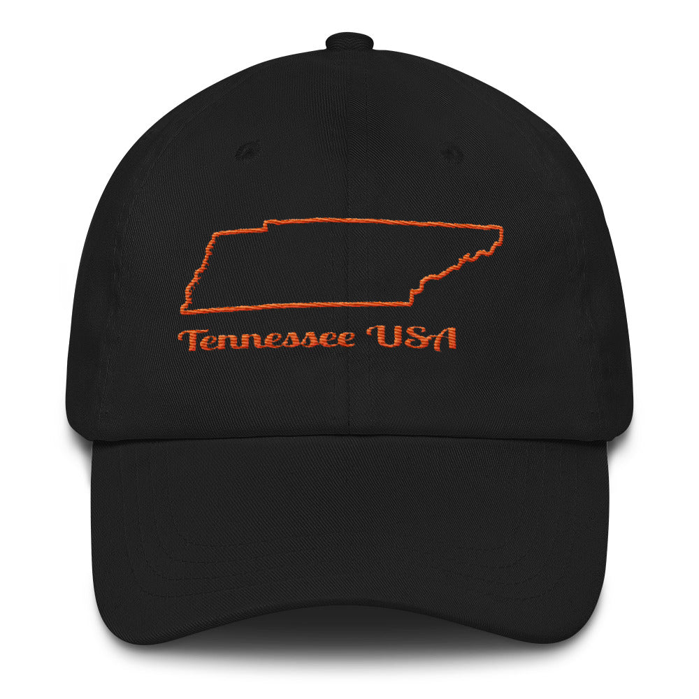 Tennessee USA - Cotton Cap
