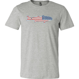 "North Carolina USA ""Redfish"" - Short Sleeve Men's T-Shirt"