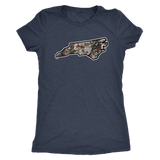 Realtree Camo North Carolina - T-Shirt